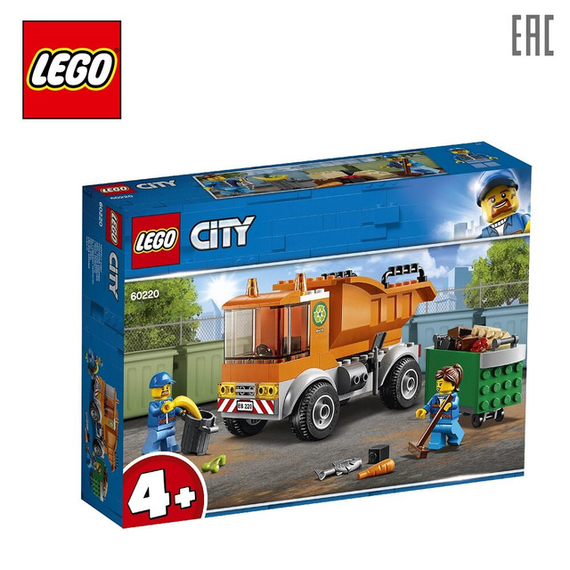 Конструктор LEGO City Great Vehicles 60220 Мусоровоз