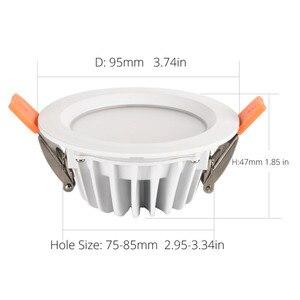 Image 3 - Водонепроницаемый светодиодный потолочный светильник IP66, полностью морской Светодиодный светильник 5 Вт 7 Вт 9 Вт, теплый белый холодный белый Встраиваемый светодиодный светильник, точечный светильник, белый корпус, светодиодный светильник