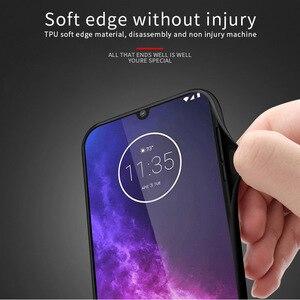 Image 4 - PINWUYO чехол для Motorola Moto One Zoom, кожаный чехол для телефона Motorola Moto P50 Note с мягкими краями, жесткий защитный чехол из поликарбоната