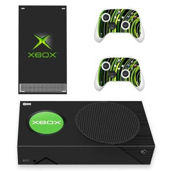 Custom Design Skin Sticker Decal Cover for Xbox Series S Console and 2 Controllers Xbox Series Slim Skin Sticker Vinyl 2