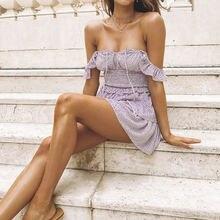 Платье трапеция lofia женское с высокой талией винтажное шифоновое
