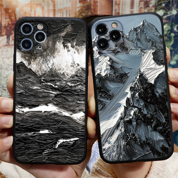 Mountain Silicone Case for iPhone 12/12 Max/12 Pro/12 Pro Max 1