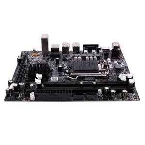Image 4 - PPYY nowość H55 LGA 1156 gniazdo płyty głównej LGA 1156 Mini ATX obraz pulpitu USB2.0 SATA2.0 podwójny kanał 16G DDR3 1600 dla Intel