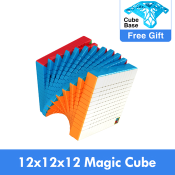 moyu cubing classroom meilong 12x12x12 Cube Magic Speed 12x12 cubo Mofangjiaoshi Cubes Puzzle Toys Cubo-magico - discount item  51% OFF Games And Puzzles