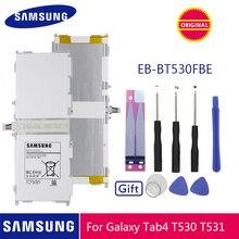SAMSUNG Original Tablet Battery EB-BT530FBU EB-BT530FBC For Samsung GALAXY Tab4 Tab 4 SM-T530 T531 T535 T537 T533 T535 6800mAh цена