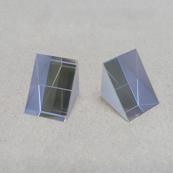 90 stopni całkowite odbicie eksperyment fizyczny promień refrakcji szkła optycznego kąt prosty trójkąt Isosceles Prism tanie i dobre opinie NoEnName_Null 60 40 Triangle Prism 20*20*20mm 0 01-0 1 inner Reflection