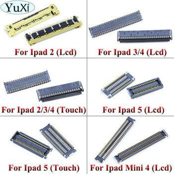 YuXi Touch Screen LCD Display FPC Connector For iPad 2 3 4 5 Board Connector On Motherboard Mainboard For Ipad Mini 4 image