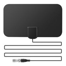 Antena Mini TV Aerial TV Surf HD TV Fox VHF UHF DVB-T2 25DB Gain US Pluge SOONHUA Indoor Free Digital TV Antenna 50 Miles HDTV(China)
