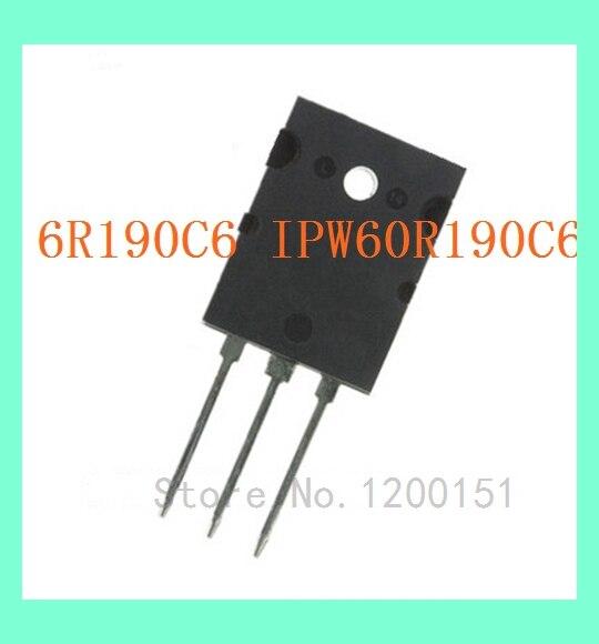 1pcs 6R190C6 IPW60R190C6 MOS TO220F