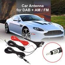 2 en 1 AM/FM DAB 10 DB voiture plafond antenne ensemble 1452-1492 MHz antennes amplificateur 12V 58 Cm GPS récepteur antenne câbles adaptateurs
