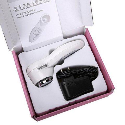 7 cor light ultrasonic beleza instrumento instrumento instrumento de rejuvenescimento da pele facial limpeza instrumento
