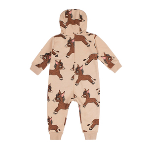 Image 4 - TinyPeople monos de Donkey para bebé, Pelele con capucha de algodón para niño, Pelele de invierno para niña, ropa de mono infantil, mamelucos para niño