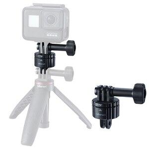 Image 4 - VIJIM GP 2 Aluminum GoPro Quick Release Mount Clip Convert Adapter for GoPro 8/7/6/5 DJI Osmo Action , Action camera Accessories
