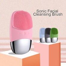 Щетка для очищения лица ультра звуковая вибрация электрическая