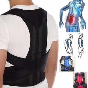 ZITY Therapy Neck Women and Men Adjustable Hump Correction Back Support Shoulder Lumbar Brace Belt