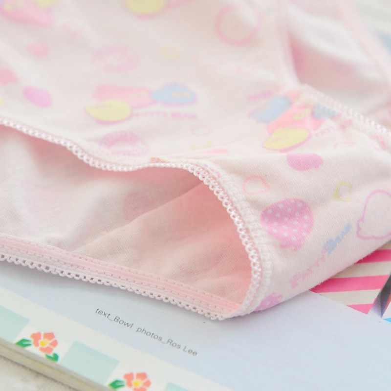 6 قطعة/الوحدة 100% القطن ملابس داخليّة حريمي الاطفال الطفل سراويل الأطفال الدانتيل سراويل داخلية جديد