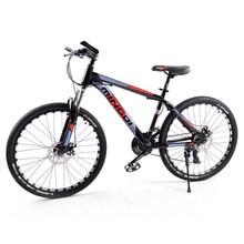 Велосипед 26 дюймов Взрослый велосипед с переменной скоростью 24 скорости Мужская и женская рама велосипеда Углеродистая сталь Шоссейный ве...