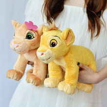 35CM Original The Lion King Plush Doll Simba Nana Soft Toys Stuffed Dolls for Chidlren Gift