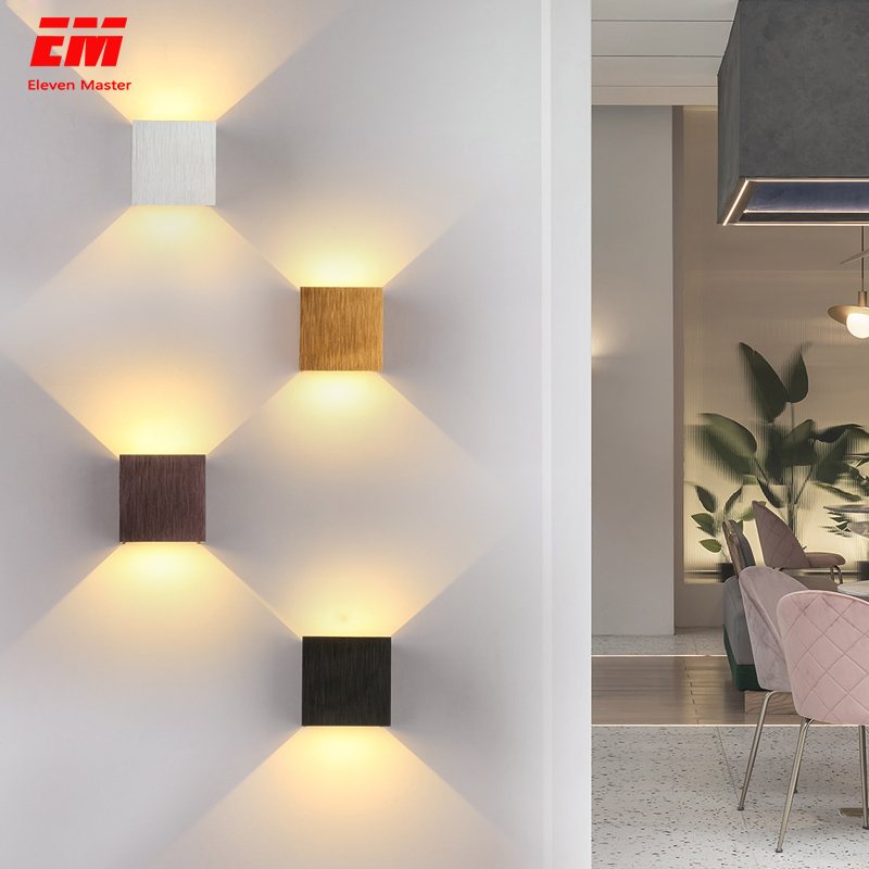 Cube COB LED Indoor Lighting Wall Lamp Modern Home Lighting Decoration Sconce Aluminum Lamp 6W 85-265V For Bath Corridor ZBD0017