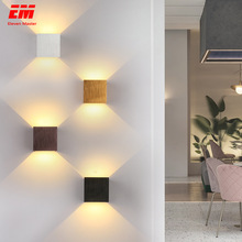 Modern Home Sconce Lighting-Decoration Cube Wall-Lamp Bath Indoor-Lighting Corridor COB