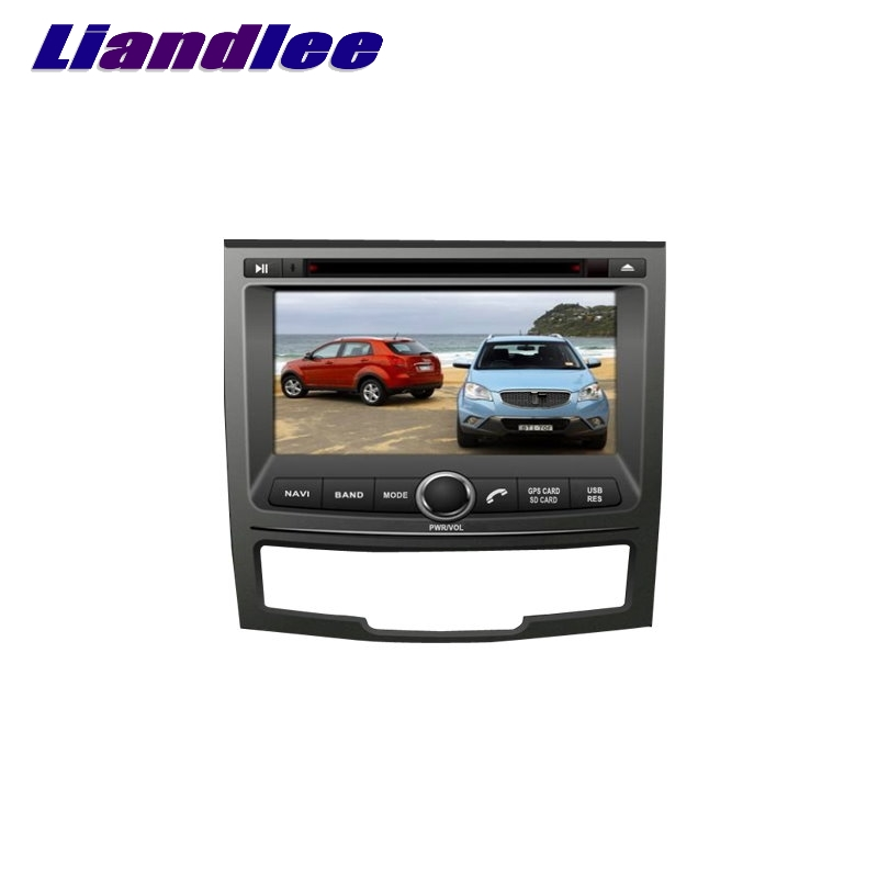 For SsangYong Korando 2010~2017 LiisLee Car Multimedia TV DVD GPS Audio Hi-Fi Radio Original Style Navigation Advanced NAV INAVI image