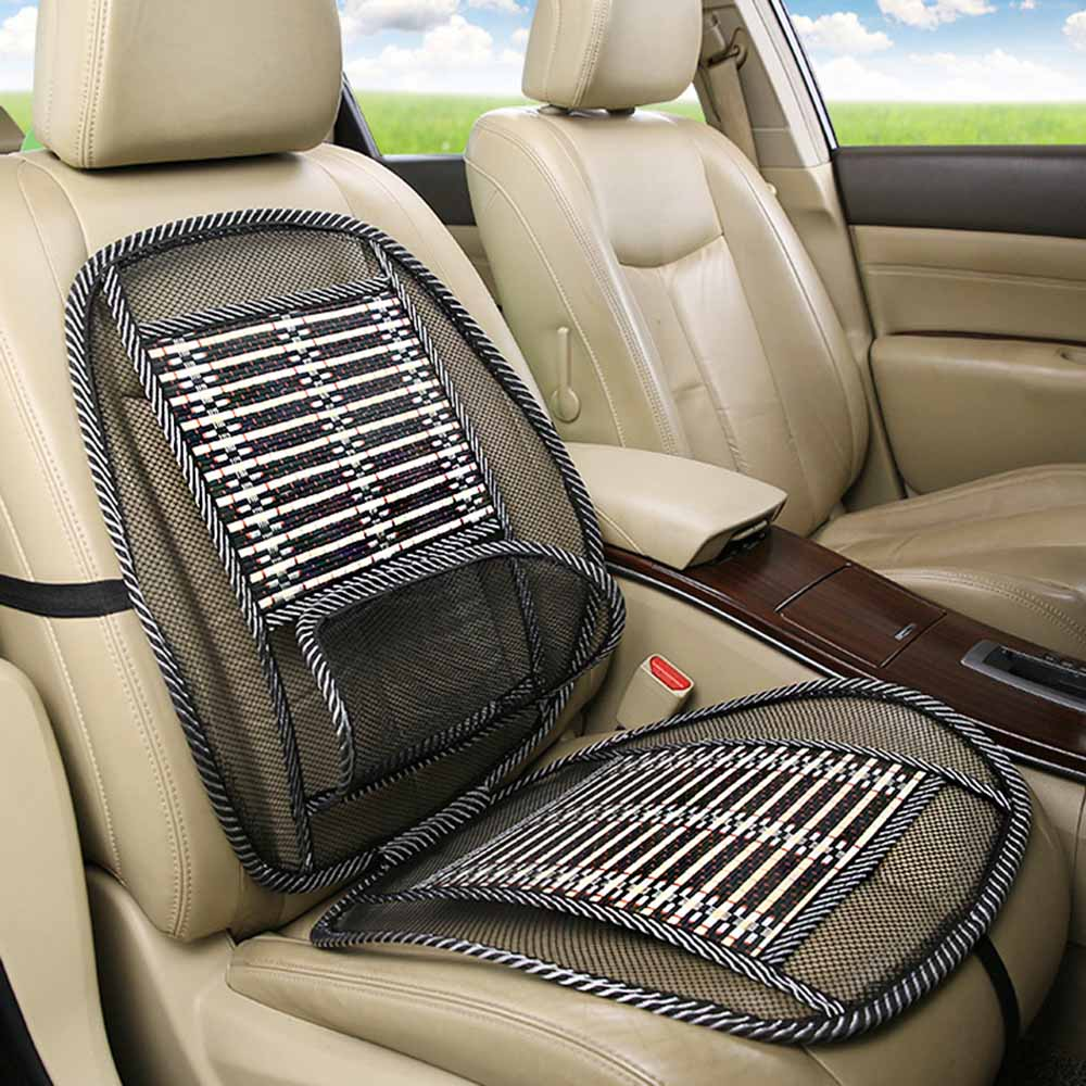 Car Massage Cushion Cool Pads Breathable Seat Cover Mat Universal Auto Accessory