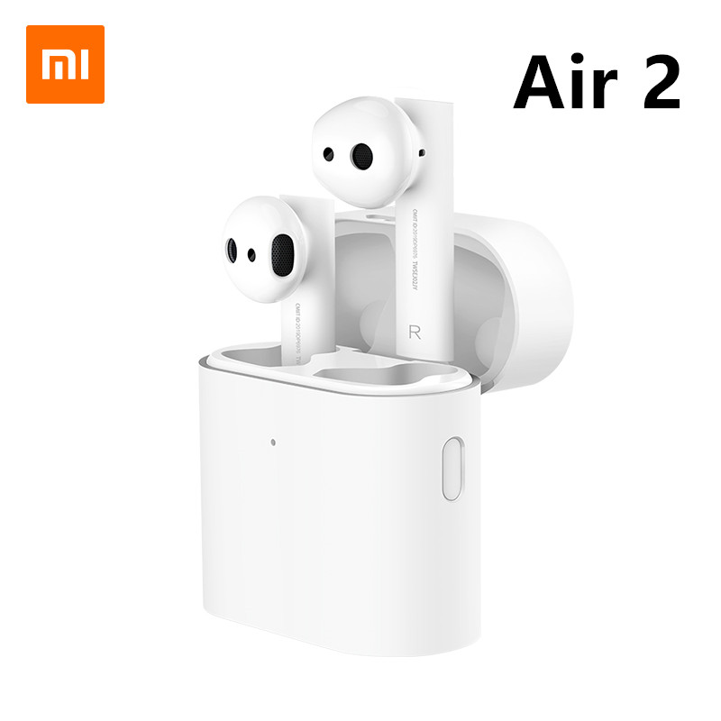 Original Xiaomi Mi Air 2 TWS Headset Bluetooth 5.0 Earphone Airdots Pro 2 Long Battery ENC Auto Pause Tap Control Fast Charging