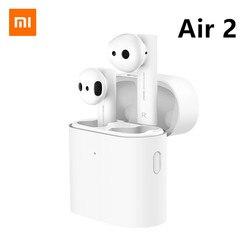 Original Xiaomi mi Air 2 TWS Headset Bluetooth 5.0 Earphone Airdots Pro 2 Long Battery ENC Auto Pause Tap Control Fast Charging