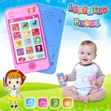 Русские дети телефон игрушки Дети Раннее Образование моделирование музыка мобильный телефон игрушка подарок для ребенка