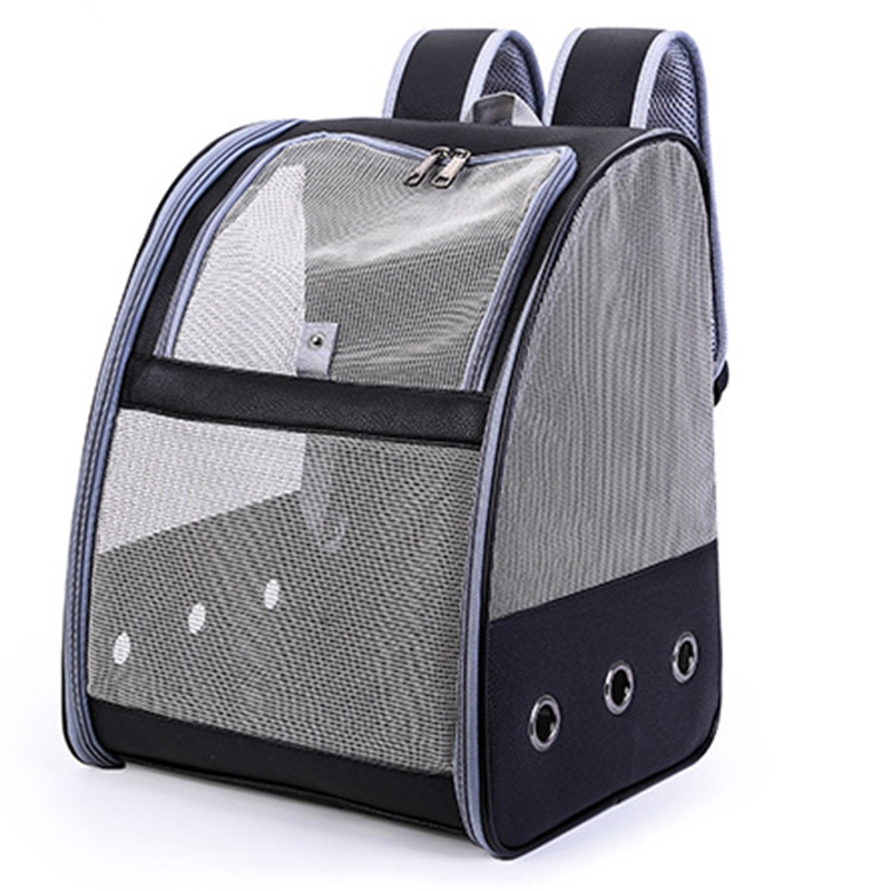 Pet Parrot Backpack Carry Cage Cat and Dog Outdoor Travel Breathable Carrier Bird Transport Bag Bird Supplies
