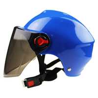 Capacete da motocicleta scooter bicicleta anti uv capacete de segurança capacete de motocross cor múltipla proteger|Capacetes| |  -