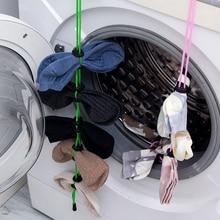 Многофункциональная стиральная Одежда Корзина домашние носки Висячие веревки креативные стиральные носки чулки сушильные носки стойки