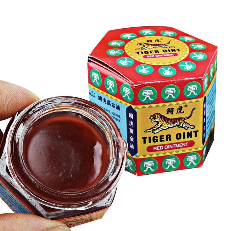 Red Tiger Balm Ointment Pain Analgesic Active Oil Arthritis Painkiller Ointment Headache Muscle Pain Relief Ointment Effectively