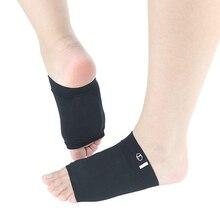 Black Color Flat Foot Braces Fashion Support Elastic Bandage
