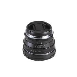 35mm F/1.6 Manual Focus MF Prime Lens for Panasonic Olympus Micro 4/3 Mount MFT GH1 GH2 GH3 GH4 GH5 GH5s E-PM1 E-PM2 E-PL1