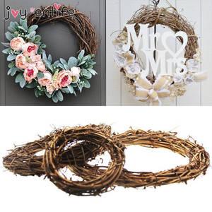 Crafts-Decor Wreath Rattan-Wreath-Garland Wedding-Decoration Party-Ornament Grand-Tree
