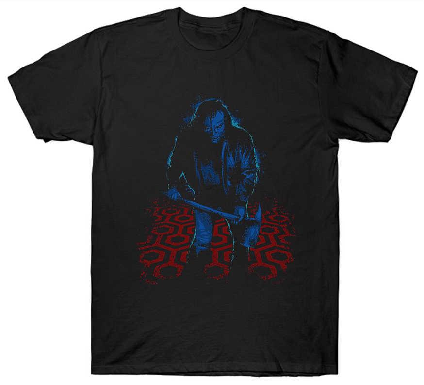 Блестящая футболка для мальчика Sci Fi Horror фильм 1980'S культовый Джек Николсон
