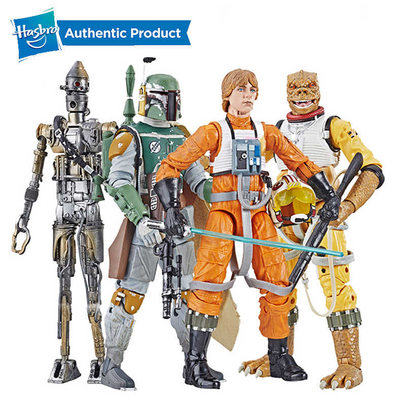 Hasbro Star Wars The Black Series Arsip Luke Skywalker Figure Starwars Mainan Luke Skywalker Boba Fett Ig88 Bossk 6 Inci