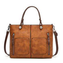 BELLELIFE Classic Vintage 2 in 1 Handbags for Women Luxury Fashion Shoulder Bag Lady Causal Totes High Quality Crossbody