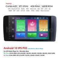 1080P HD 9Android 10.0 NO DVD Car GPS Navigation For Mercedes Benz W164 350 300 500 320 X164 GL350 320 420 450 500 OCTA CORA
