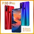 Глобальная версия P30 Pro 8 Гб 256 5G смартфон 6,3 дюймовый MTK 6595 10-ядерный подключается к сети 4g мобильные телефоны Android 9,1 4800 мА/ч, Батарея