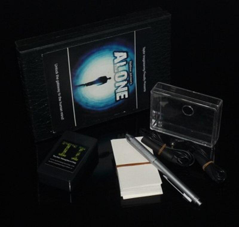 Alone di Matthew Johnson (DVD + Gimmick) close Up Trucchi Magici Accessori Mentalismo Magia Illusioni Mente Previsione trucos de ma-in Trucchi di magia da Giocattoli e hobby su  Gruppo 2