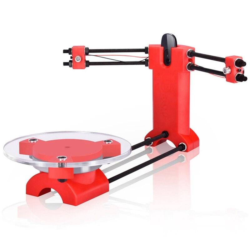 Escáner de código abierto Diy 3D escáner tridimensional moldeado por inyección piezas de plástico de escritorio para impresora Reprap 3D Dropship lámpara de Luna 3D 20cm 18cm 15cm cambio colorido toque USB Led luz de noche decoración del hogar regalo creativo