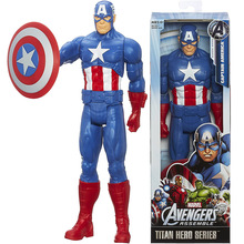 Figurine Collection Toys Doll Avengers-Titan Captain-America Hero for Boy Kids 12-Christmas-Gift