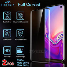 2PCS Full Cover Tempered Glass For Huawei Mate 30 Lite Pro Screen Protector for Mate 20 Lite Glass Film P30 Pro Mate 10 Lite Pro front outer glass lens touch panel cover replacement for huawei p30 pro p20 lite mate 20 pro mate 10 mate 30 front screen lens