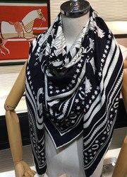 2020 new arrival  winter autumn  colorful 70% cashmere 30% silk scarf 140*140 cm big warm shawl wrap for women lady girl