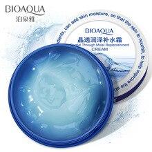 BIOAQUA крем для лица с кристаллами увлажняющий крем для лица Уход питание для кожи плотное наполнение крем с гиалуроновой кислотой 38 г