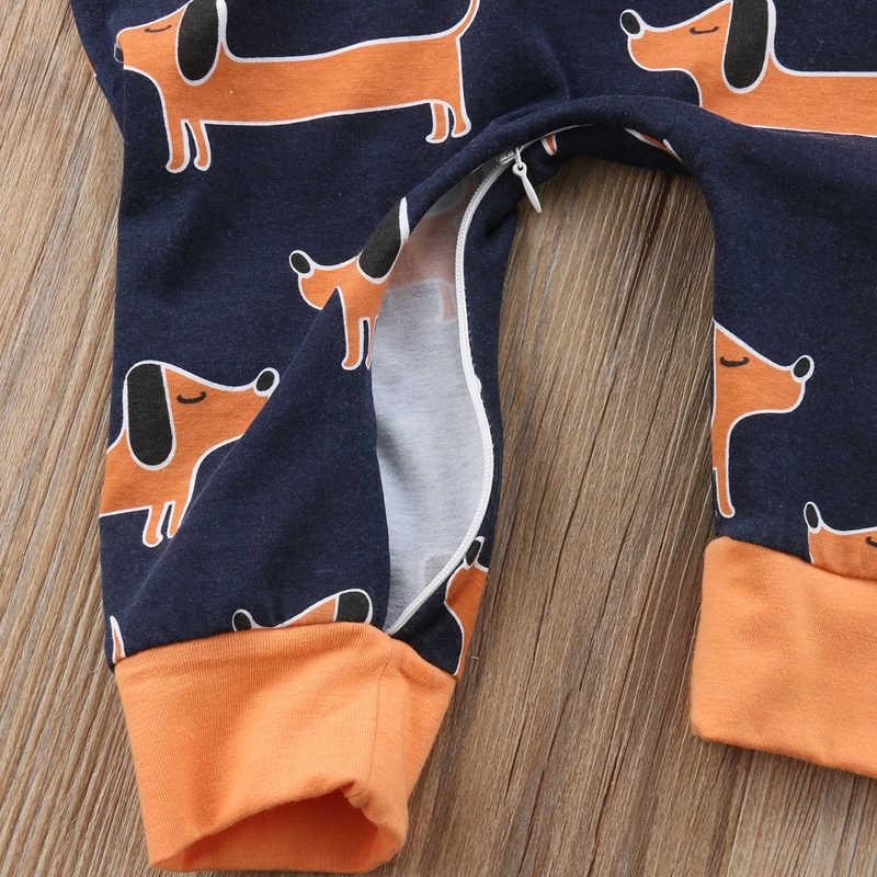 Pudcoco 2020 Musim Semi Musim Panas Bayi Celana Kodok 0-24M Baru Bayi Anak Laki-laki Gadis Bayi Kapas Baju Monyet Jumpsuit Pakaian pakaian Balita Bayi