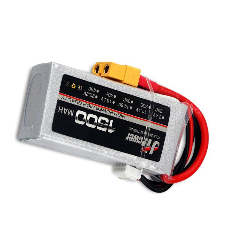 RC LiPo Battery <font><b>3S</b></font> 11.1V <font><b>1500mAh</b></font> 25C for RC Airplane Drone Car Boat Truck RC Batteries Quadcopter image