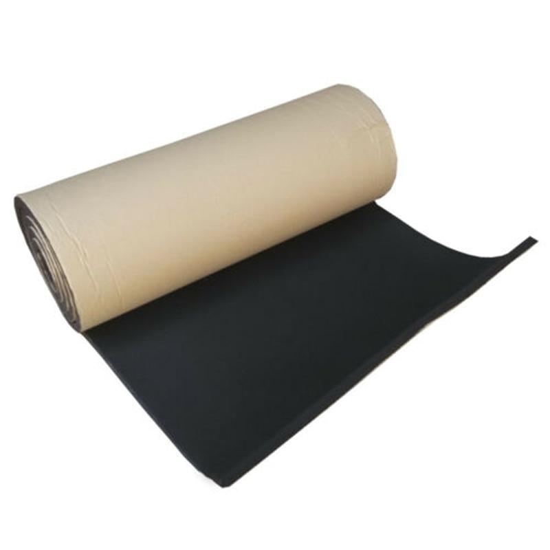 1M Roll Car Sound Proofing Insulation Foam Mats Deadening Closed Carpets 3MM Flame Retardant Soundproof Pad